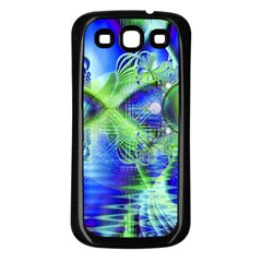 Irish Dream Under Abstract Cobalt Blue Skies Samsung Galaxy S3 Back Case (black)