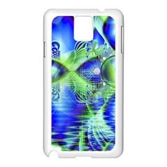 Irish Dream Under Abstract Cobalt Blue Skies Samsung Galaxy Note 3 N9005 Case (white)