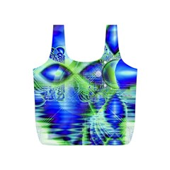 Irish Dream Under Abstract Cobalt Blue Skies Reusable Bag (S)