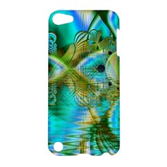 Crystal Gold Peacock, Abstract Mystical Lake Apple iPod Touch 5 Hardshell Case