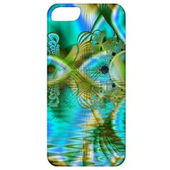 Crystal Gold Peacock, Abstract Mystical Lake Apple Iphone 5 Classic Hardshell Case