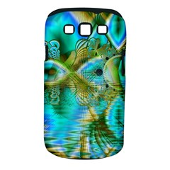 Crystal Gold Peacock, Abstract Mystical Lake Samsung Galaxy S III Classic Hardshell Case (PC+Silicone)