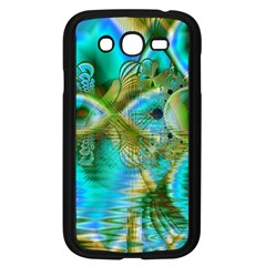 Crystal Gold Peacock, Abstract Mystical Lake Samsung Galaxy Grand DUOS I9082 Case (Black)