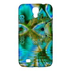 Crystal Gold Peacock, Abstract Mystical Lake Samsung Galaxy Mega 6.3  I9200 Hardshell Case
