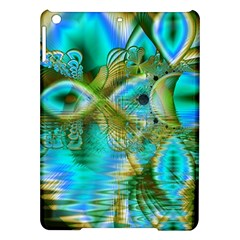 Crystal Gold Peacock, Abstract Mystical Lake Apple Ipad Air Hardshell Case