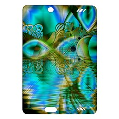 Crystal Gold Peacock, Abstract Mystical Lake Kindle Fire HD 7  (2nd Gen) Hardshell Case