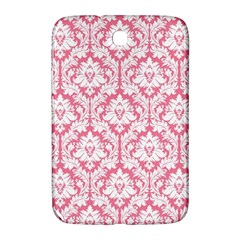 White On Soft Pink Damask Samsung Galaxy Note 8.0 N5100 Hardshell Case