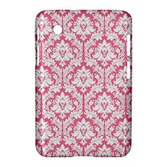 White On Soft Pink Damask Samsung Galaxy Tab 2 (7 ) P3100 Hardshell Case