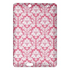 White On Soft Pink Damask Kindle Fire Hd 7  (2nd Gen) Hardshell Case