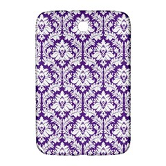 White On Purple Damask Samsung Galaxy Note 8 0 N5100 Hardshell Case