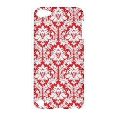 White On Red Damask Apple iPod Touch 5 Hardshell Case