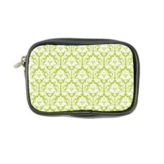 Spring Green Damask Pattern Coin Purse
