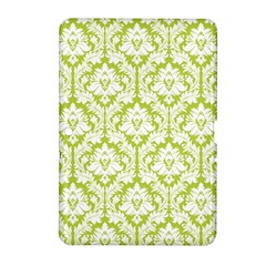White On Spring Green Damask Samsung Galaxy Tab 2 (10 1 ) P5100 Hardshell Case
