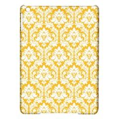 White On Sunny Yellow Damask Apple iPad Air Hardshell Case