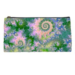 Rose Apple Green Dreams, Abstract Water Garden Pencil Case
