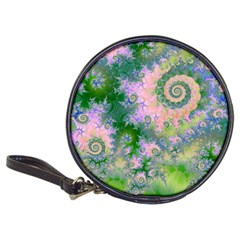Rose Apple Green Dreams, Abstract Water Garden CD Wallet