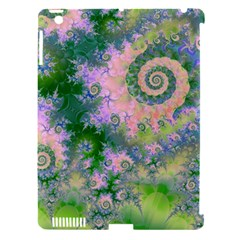 Rose Apple Green Dreams, Abstract Water Garden Apple Ipad 3/4 Hardshell Case (compatible With Smart Cover)