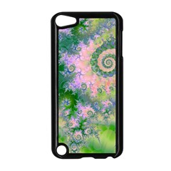 Rose Apple Green Dreams, Abstract Water Garden Apple Ipod Touch 5 Case (black)