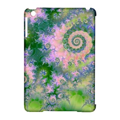 Rose Apple Green Dreams, Abstract Water Garden Apple iPad Mini Hardshell Case (Compatible with Smart Cover)
