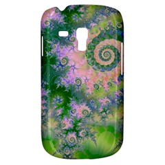 Rose Apple Green Dreams, Abstract Water Garden Samsung Galaxy S3 Mini I8190 Hardshell Case