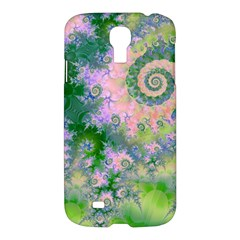 Rose Apple Green Dreams, Abstract Water Garden Samsung Galaxy S4 I9500/i9505 Hardshell Case