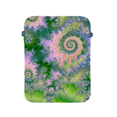 Rose Apple Green Dreams, Abstract Water Garden Apple iPad Protective Sleeve