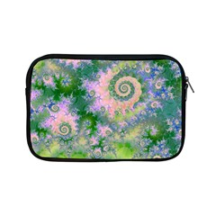 Rose Apple Green Dreams, Abstract Water Garden Apple Ipad Mini Zippered Sleeve