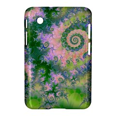 Rose Apple Green Dreams, Abstract Water Garden Samsung Galaxy Tab 2 (7 ) P3100 Hardshell Case