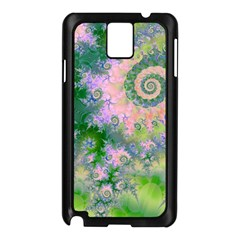 Rose Apple Green Dreams, Abstract Water Garden Samsung Galaxy Note 3 N9005 Case (black)