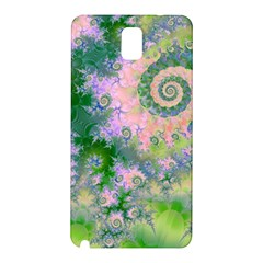 Rose Apple Green Dreams, Abstract Water Garden Samsung Galaxy Note 3 N9005 Hardshell Back Case