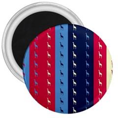 Giraffentapete 3  Button Magnet