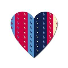 Giraffentapete Magnet (Heart)