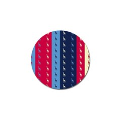 Giraffentapete Golf Ball Marker 4 Pack