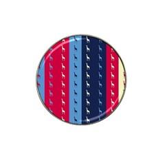 Giraffentapete Golf Ball Marker (for Hat Clip)