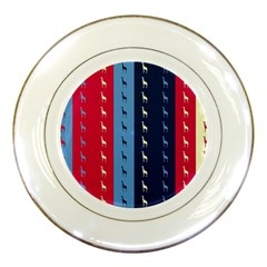 Giraffentapete Porcelain Display Plate