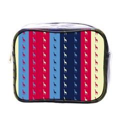 Giraffentapete Mini Travel Toiletry Bag (One Side)