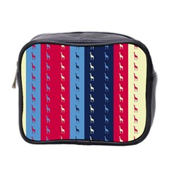 Giraffentapete Mini Travel Toiletry Bag (two Sides)