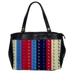 Giraffentapete Oversize Office Handbag (One Side)