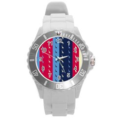 Giraffentapete Plastic Sport Watch (Large)