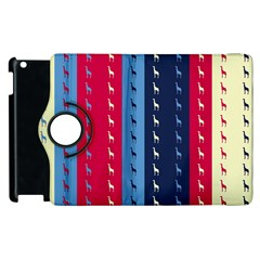 Giraffentapete Apple Ipad 2 Flip 360 Case