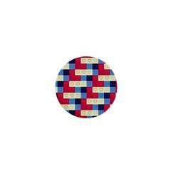 Hearts 1  Mini Button Magnet