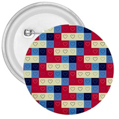 Hearts 3  Button