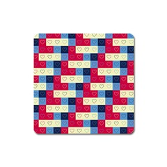Hearts Magnet (Square)