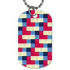 Hearts Dog Tag (Two-sided)