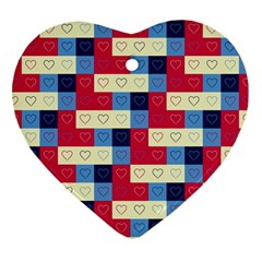 Hearts Heart Ornament (Two Sides)