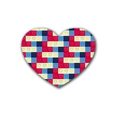 Hearts Drink Coasters 4 Pack (Heart)