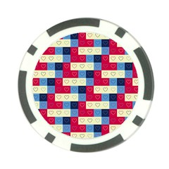Hearts Poker Chip (10 Pack)