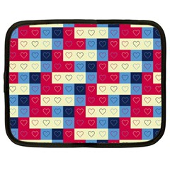 Hearts Netbook Sleeve (xxl)