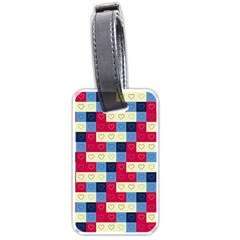 Hearts Luggage Tag (two Sides)