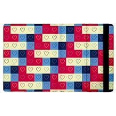 Hearts Apple iPad 2 Flip Case